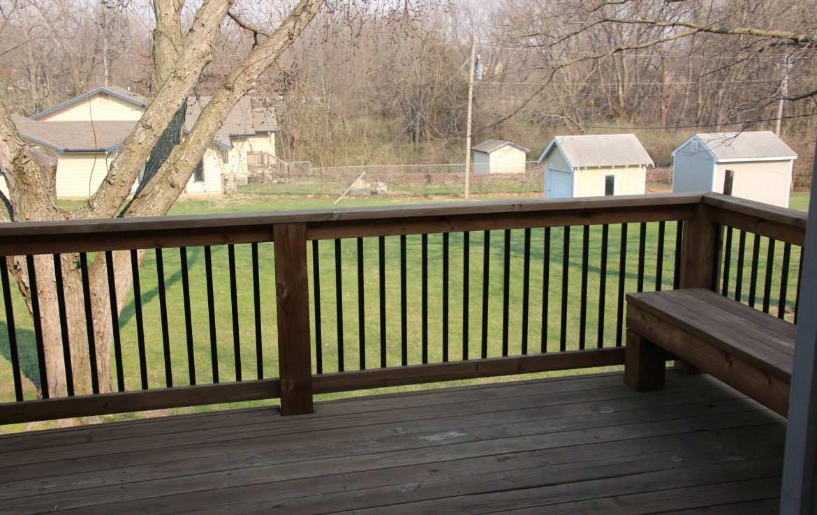 View off back deck