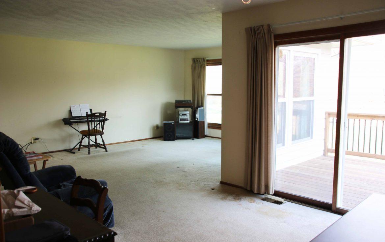 Living area, main level.